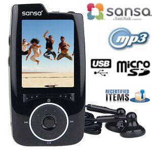 sandisk-sansa-4gb-black-multimedia-mp3-player-recertified