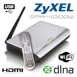 ZyXEL DMA-1000W Wireless FullHD 1080i Netzwerk-Media-Streamer ibood