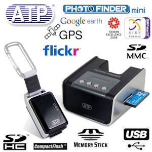 ATP GPS Photo Finder Mini mit Basisstation