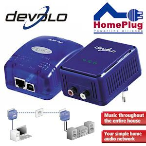 Devolo dLAN Audio Extender Starter Kit