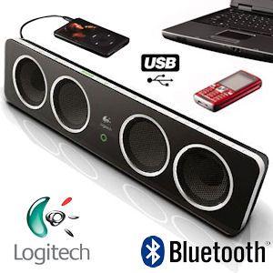 Logitech Pure-Fi Mobile Bluetooth-Lautsprecher mit USB