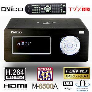 DViCO TViX HD M-6500A High Definition Multimedia Center