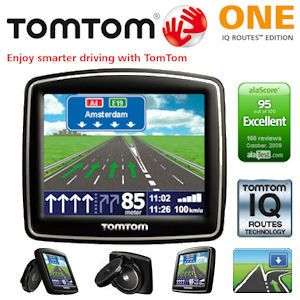 TomTom One v5 IQ Routes Edition Navigationsgerät Europa