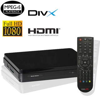 Poppstar MS30 FULL HD Multimediastation