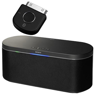 Sony Bluetooth Lautsprecher + iPod Adapter