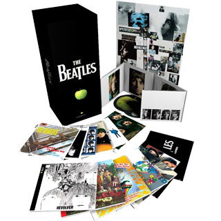 The Beatles Digital Remaster Stereo Box 16 CDs + DVD
