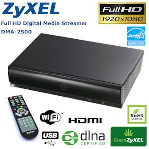ZyXEL DMA-2500 Full-HD Digital Media Player