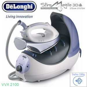 DeLonghi VVX2100 Hochleistungs-Dampfbügelstation